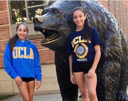 Zoe Gravier And Ariel Posen Verbally Commit To Ucla Ucla Gym Source