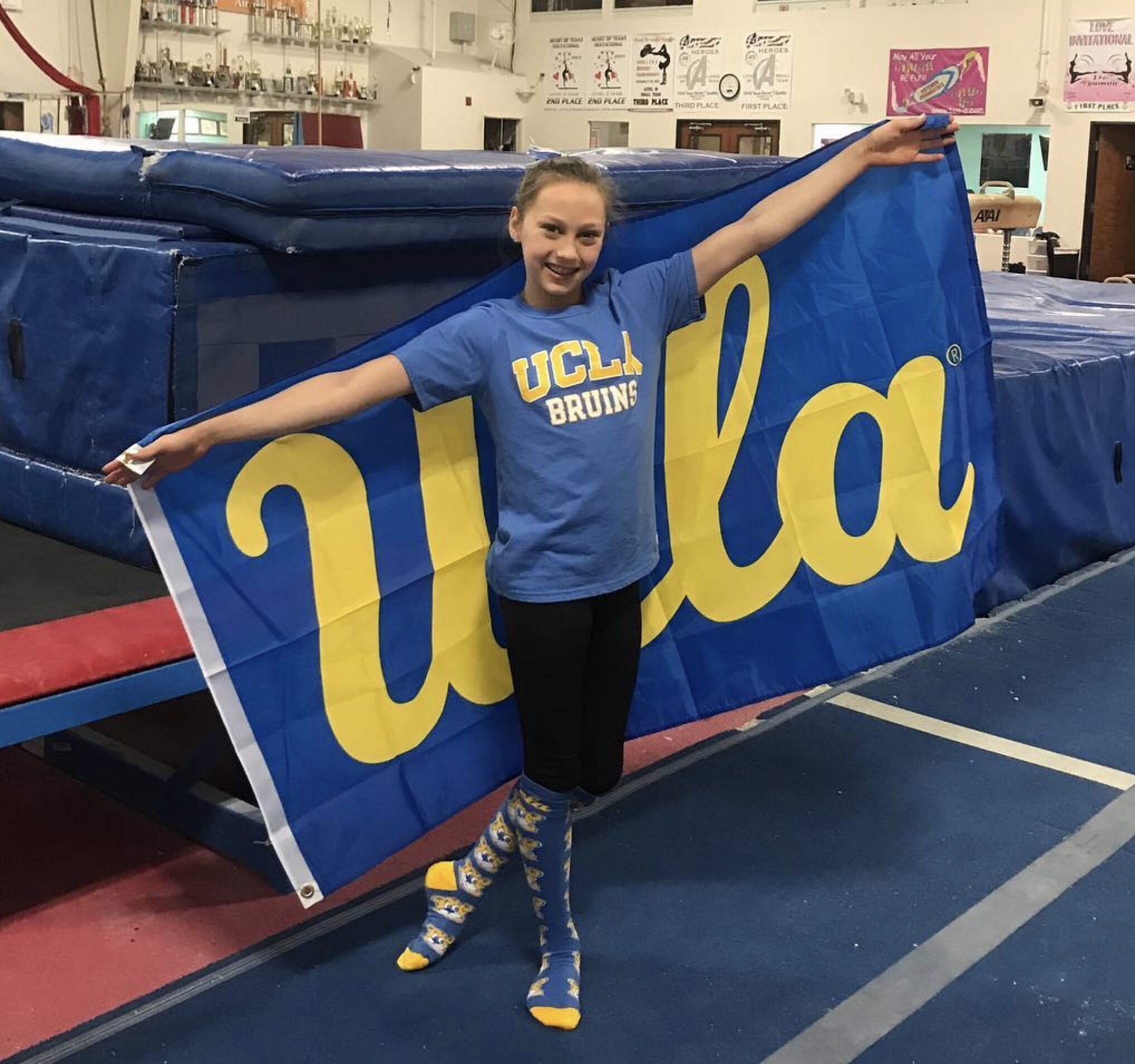 Junior Elite Katelyn Rosen Commits To Ucla Ucla Gym Source